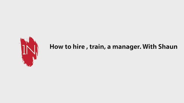 Hiring, Training, and compensating a ...