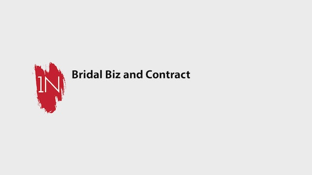 Bridal BusinessTips  and Contract