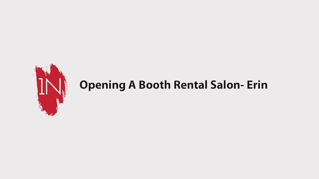 Opening a Booth Rental Salon With Erin