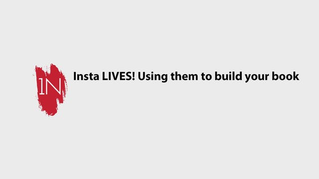 Insta LIVES and using them to grow yo...