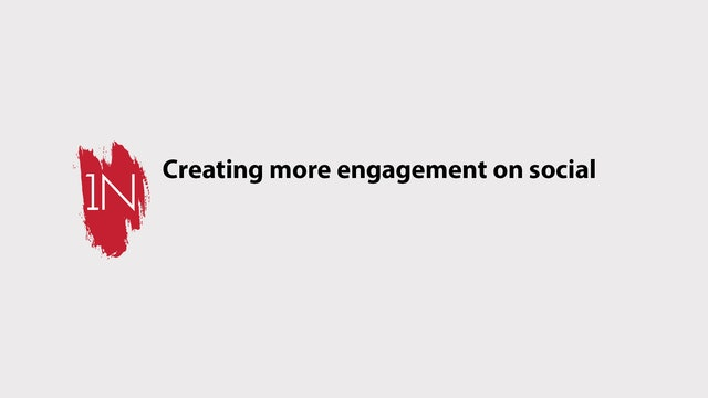 Top Tips on creating engagement on social media