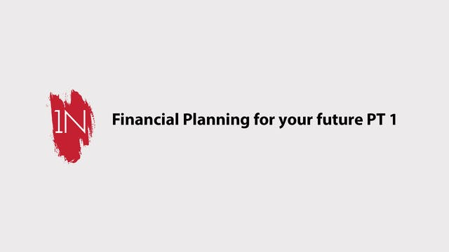 Financial Planning for your future PA...