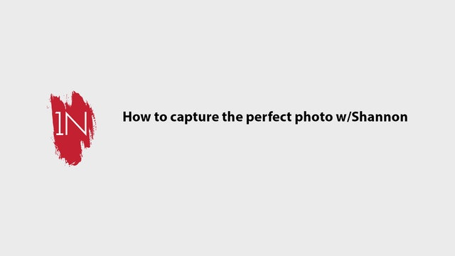 How to capture the perfect client photo with Shannon