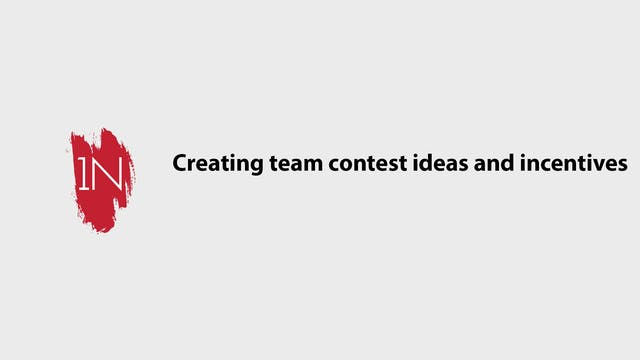 Contest and Incentive Ideas