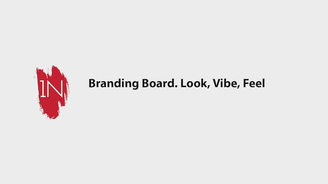 Branding Board. Look, Vibe, and Feel ...