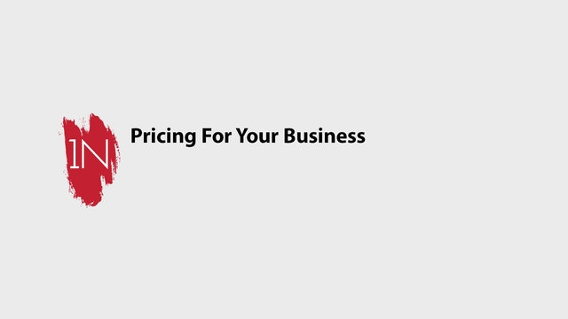 Pricing for your Business