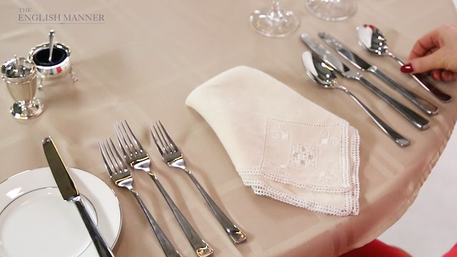 Dining Etiquette collection - The English Manner & Beaumont Etiquette