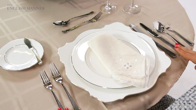 Navigating the British place setting - Dining Etiquette collection ...