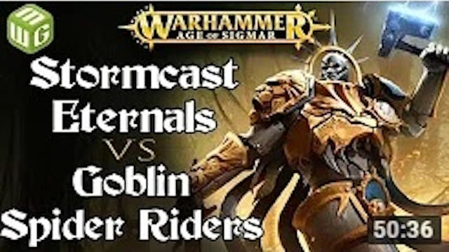 Eternals vs Goblin Spider Riders Age ...