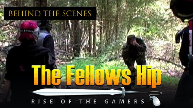 The Fellows Hip: BTS Paintball Scene