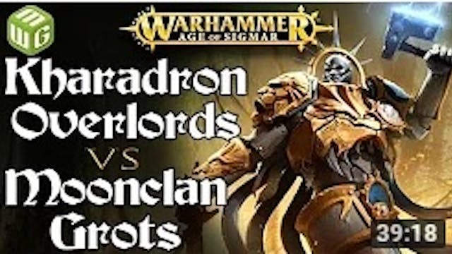 Kharadron Overlords vs Moonclan Grots...