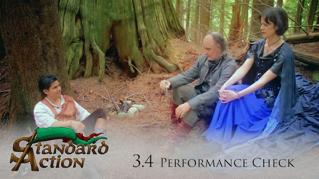 Standard Action: S3E4 - Performance Check