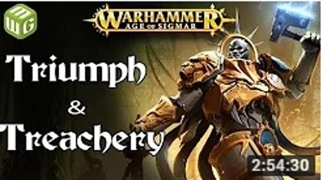 Triumph and Treachery! Age of Sigmar Battle Report - War of the Realms