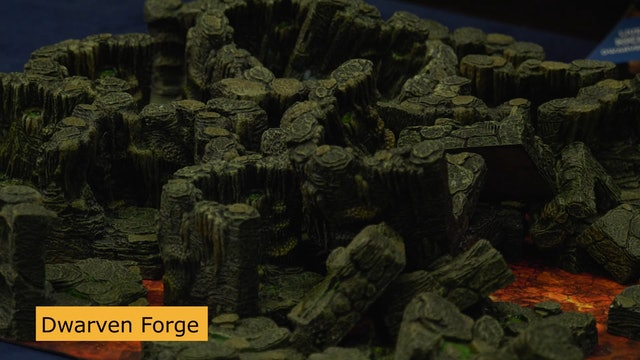 Dwarven Forge Presents New Gaming Terrains