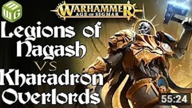 Legions of Nagash vs Kharadron Overlords Age of Sigmar - War of the Realms