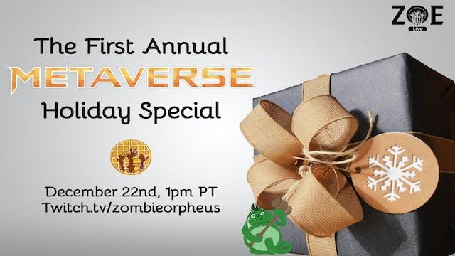 The First Annual Metaverse Holiday Sp...