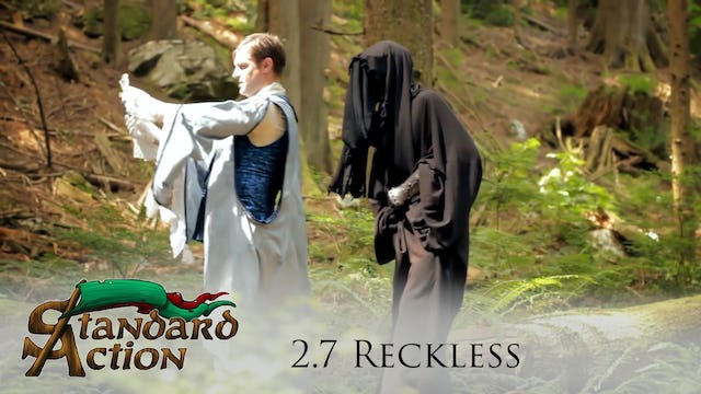 Standard Action: S2E7 - Reckless