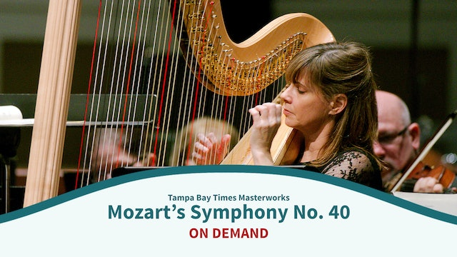 Mozart's Symphony No. 40 and Concerto for Flute and Harp