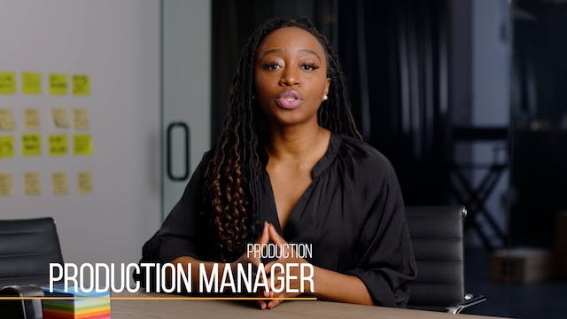36 Production201 Production Manager