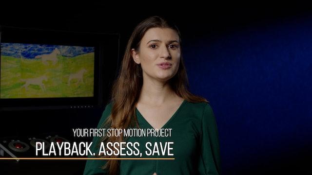 08 StopMotion101 - Playback Assess Save
