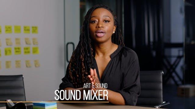 32 Production201 Sound Mixer