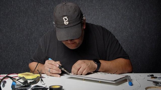05 Soft Light Build Step 5 - Soldering Wires