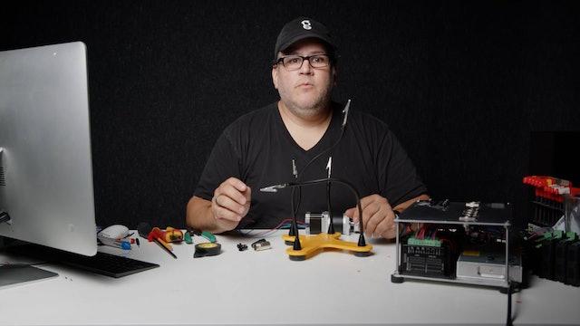 11 Stepper Motor Control Box Build - Soldering Connectors
