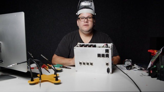12 Stepper Motor Control Box Build - Stepper Settings