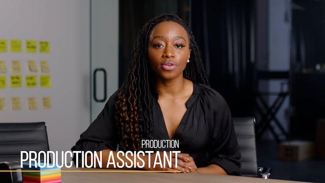 38 Production201 Production Assistant