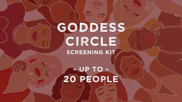 Screening Kit: Virtual Goddess Circle (+20 people)