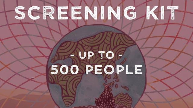 Screening Kit: Global Network (Up to 500 people)