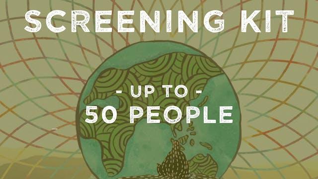 Screening Kit: Virtual Community (up to 50 people)