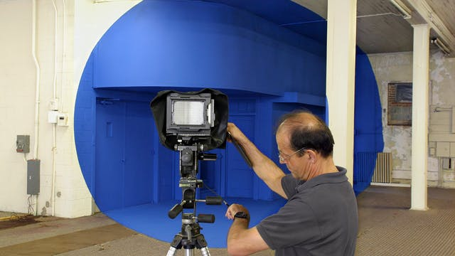 Bending Space: Georges Rousse and the Durham Project