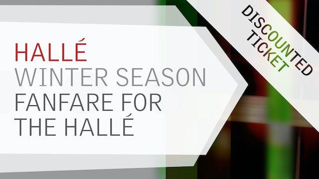 Winter Season - Fanfare for the Hallé (Discounted)