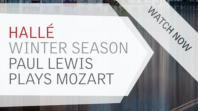 Watch now: Paul Lewis Plays Mozart