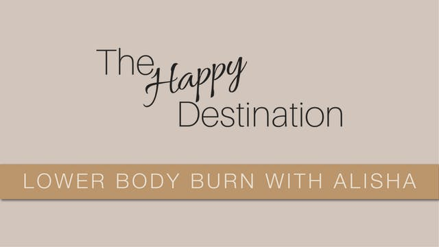 THD_Lower Body Burn With Alisha - #4
