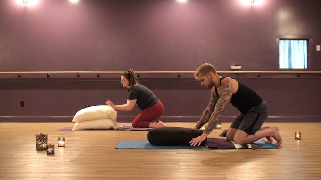Restorative Yoga with Aaron