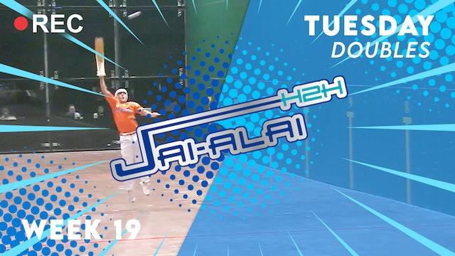 Jai-Alai H2H: Doubles (9.21)
