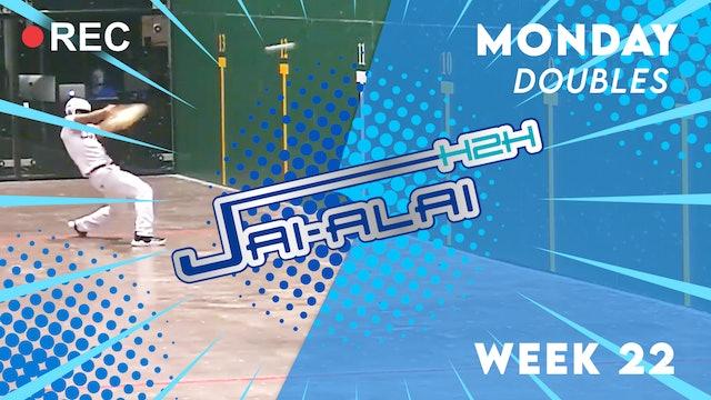 Jai-Alai H2H: Doubles (10.11)