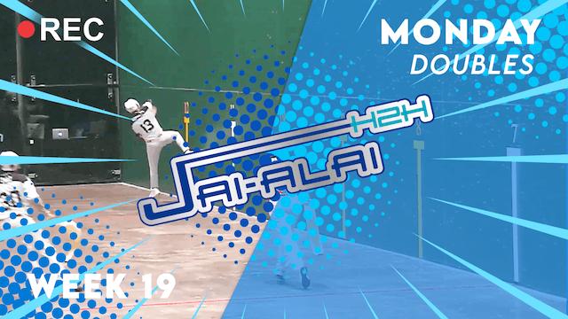 Jai-Alai H2H: Doubles (9.20)