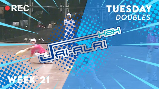 Jai-Alai H2H: Doubles (10.5)