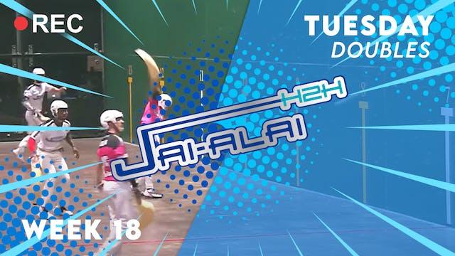 Jai-Alai H2H: Doubles (9.14)
