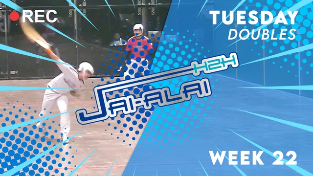 Jai-Alai H2H: Doubles (10.12)