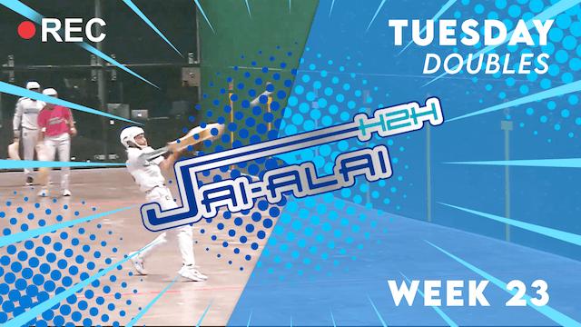 Jai-Alai H2H: Doubles (10.19)