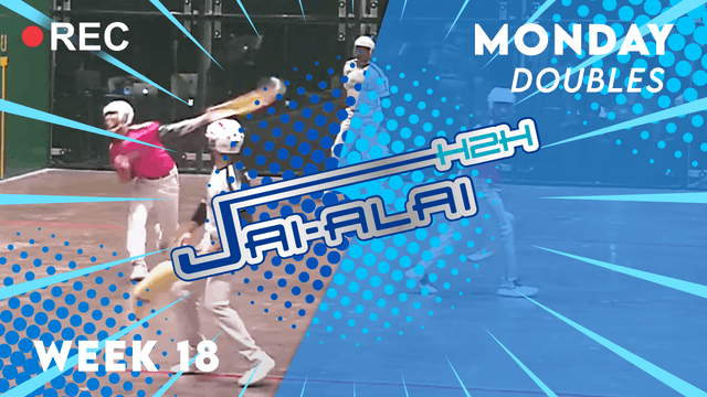 Jai-Alai H2H: Doubles (9.13) - Part 2