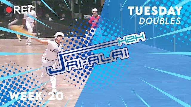 Jai-Alai H2H: Doubles (9.28)
