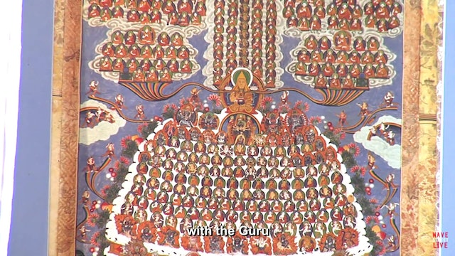 David Molk - Tibetan Chant w/ Captions