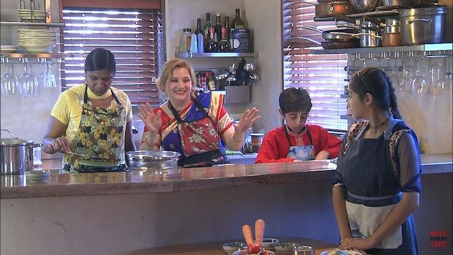 The Love of Vegetarian Cooking with Abha Sharma - Poha