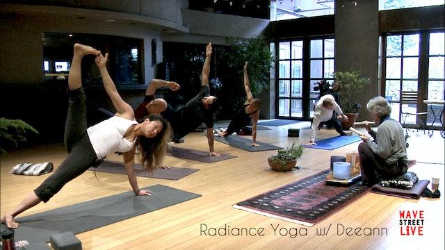Radiance Yoga and Sacred Sound Healing with Deeann and Valianna