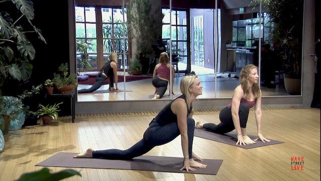 Vinyasa Yoga with Casie Fox & Jules Spitzer, Day 1